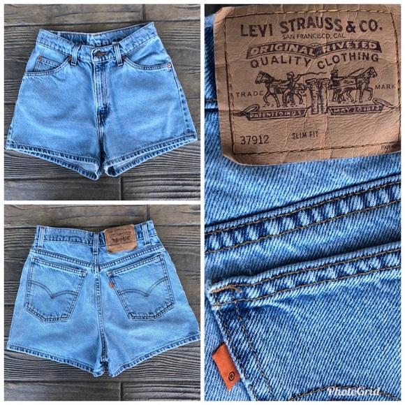 c5324ffe Levi's Shorts   Vintage Levis 912 Slim Fit Denim Size 24   Poshmark